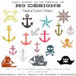 Nautical Photoshop Custom Shapes