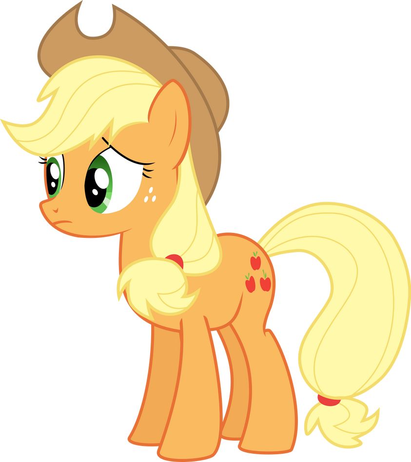 Applejack ~ ...Are you as worried as I am?