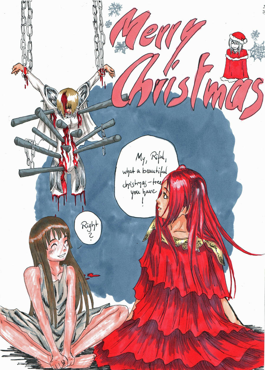 Claymore christmas by o0sahira-chan0o