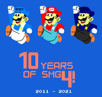 Happy 10-Year anniversary to SMG4!
