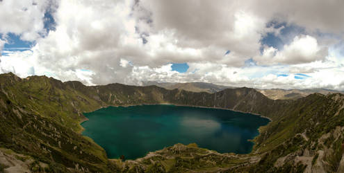 Crater Lake Quilotoa - Ecuador by Tenbult