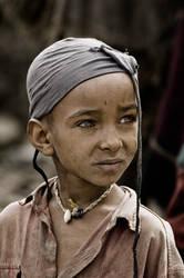 Tigray Child Portrait Ethiopia