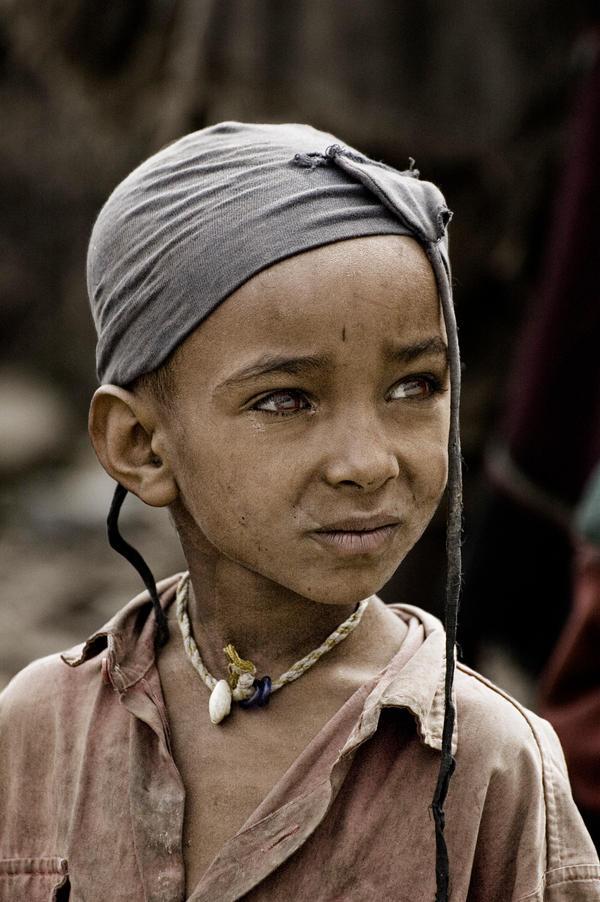 Tigray Child Portrait Ethiopia by Tenbult