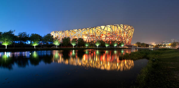Beijing National Stadium by Tenbult