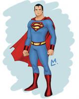 Superman Redesign by Mista-M