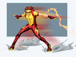 K is for Kid Flash