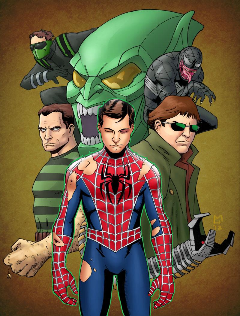 Spider-Man No More by Mista-M