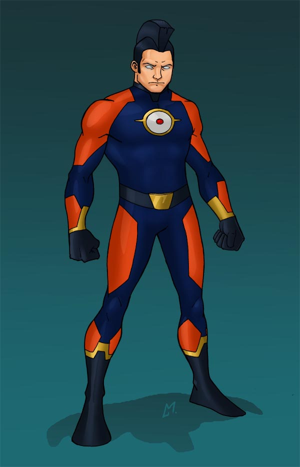 O is for OMAC by Mista-M