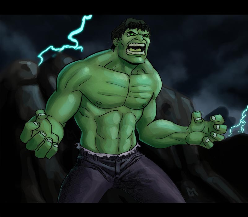 incredible hulk art gallery - photo #24