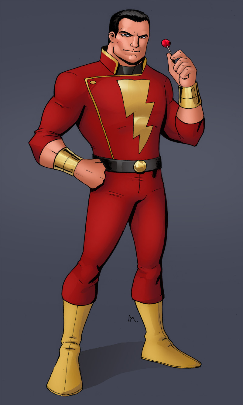 C is for Captain Marvel!!!!! by Mista-M