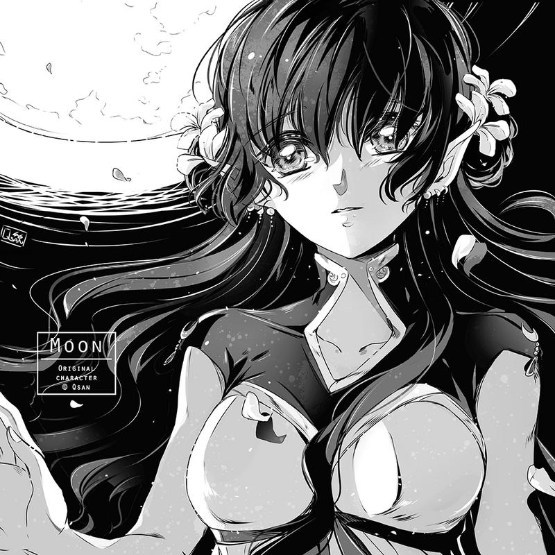 #01 Moon by Qsan90