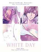 [White Day] Revel Artbook Preview by Qsan90