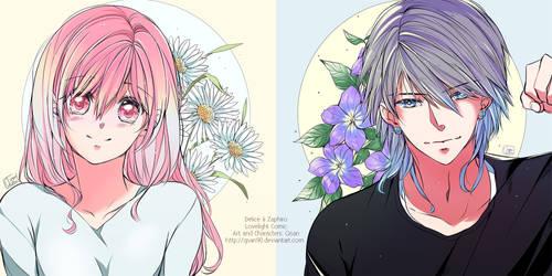 [Lovelight]  Delice Y Zafiro