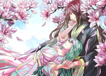 EonHui - Magnolias by Qsan90