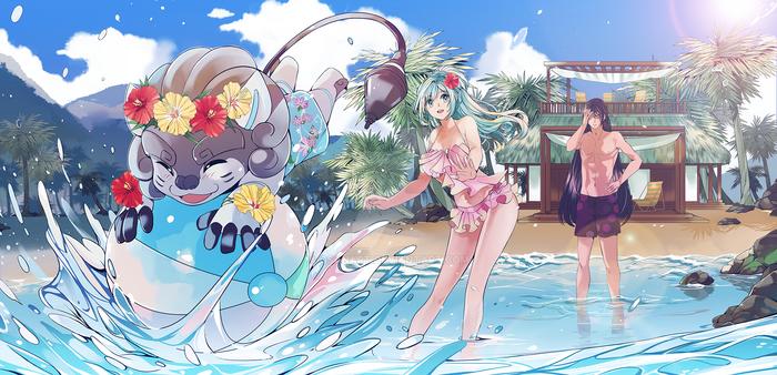 CC: Summer Vacation Plan Huion Contest [Open]