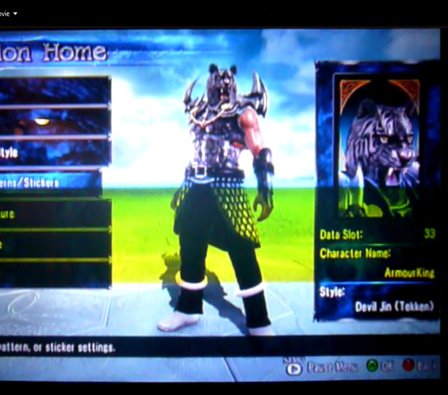 armour king in soul caliber 5