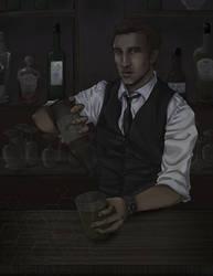 Assassin Creed: The Bartender by pen-gwyn