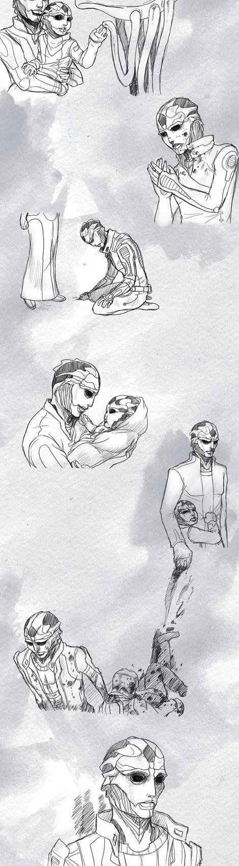 ME Origins : The Assassin by pen-gwyn