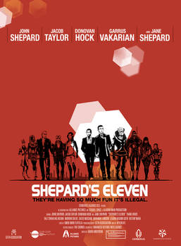 ME2 Shepard's Eleven Poster