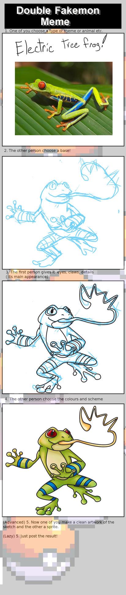 Dubble Fakemon Meme by pen-gwyn
