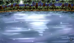 Lake at night [+ Timelapse] by MinaSorano