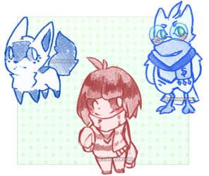 [Examples/Gifts] Doodles by MinaSorano