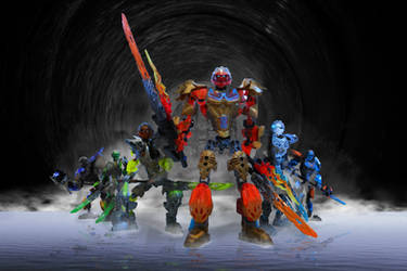 Toa Nuva (Okoto) - Bionicle 2016