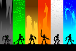 Bionicle - Silhouettes of Spirits