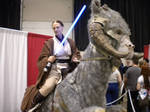 Jedi and Tauntaun by MistressKristin