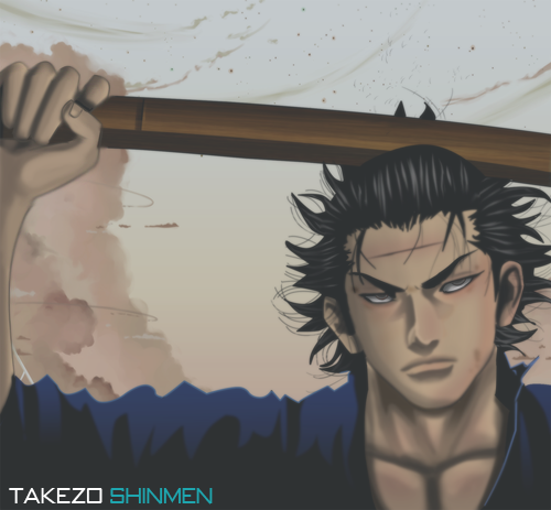 Takezo Shinmen by Lord-Nadjib