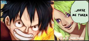 Luffy vs Mone
