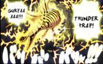 Nami attaque Thunder Trap