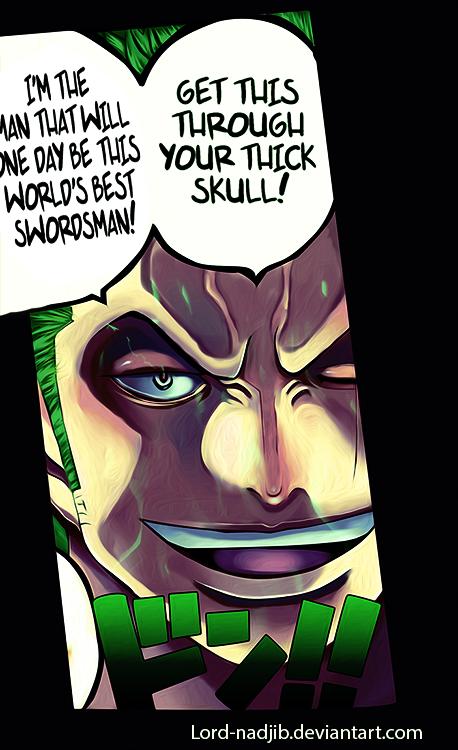 ZORO One Piece by Lord-Nadjib