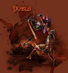 DUELS by chuckwadey