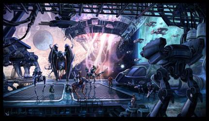 Blizzard - Starcraft by chuckwadey