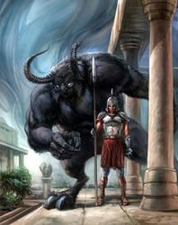 Beast of Antiquity No.4 by chuckwadey