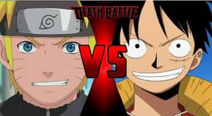 Death Battle: Naruto VS Luffy