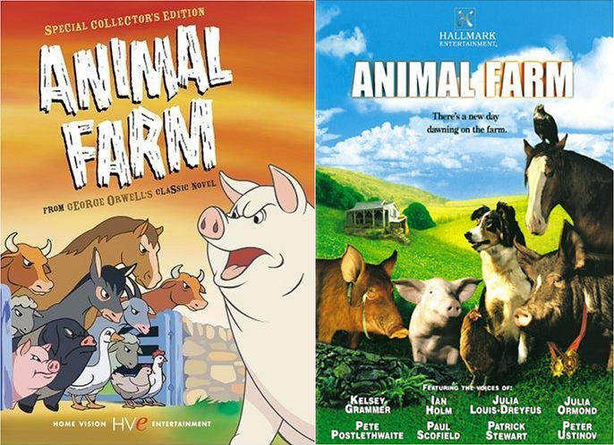 Old Vs New Animal Farm Movies By Stewiegriffin2 On Deviantart