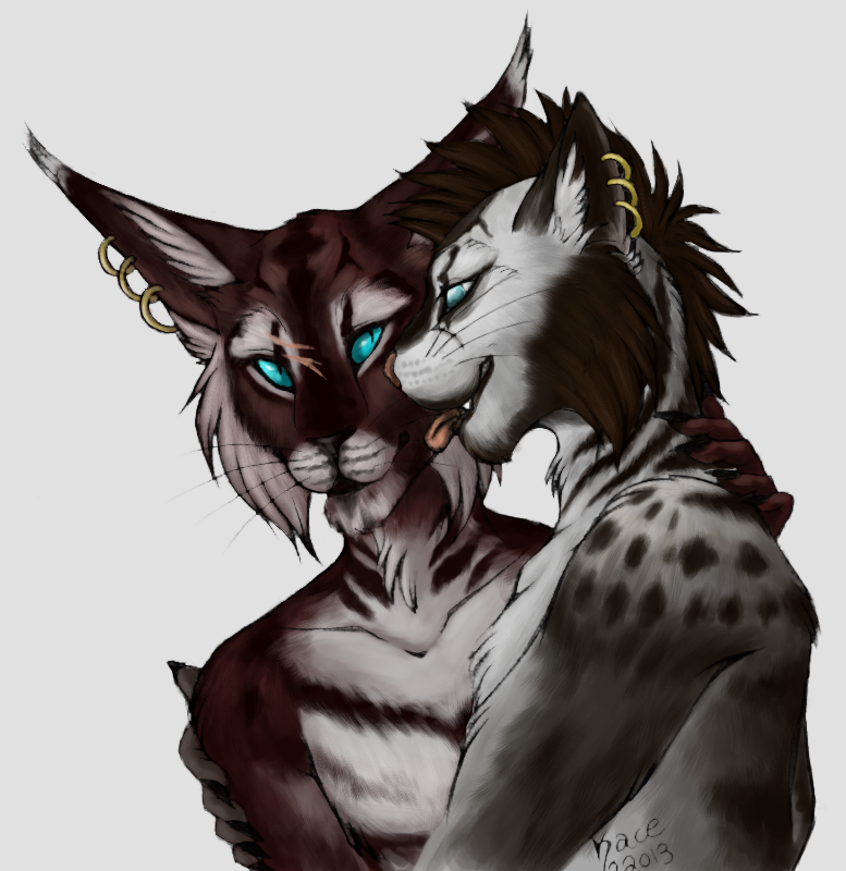 Khajiit Kisses - Collab by kcravenyote