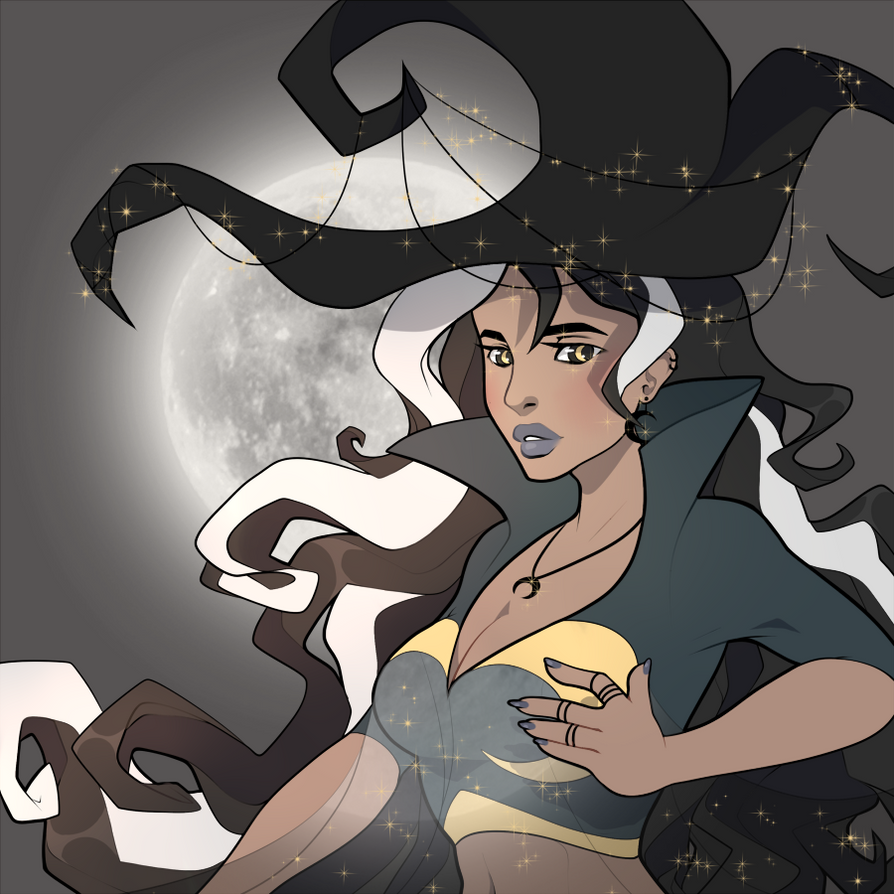 Moon Witch by Coffence