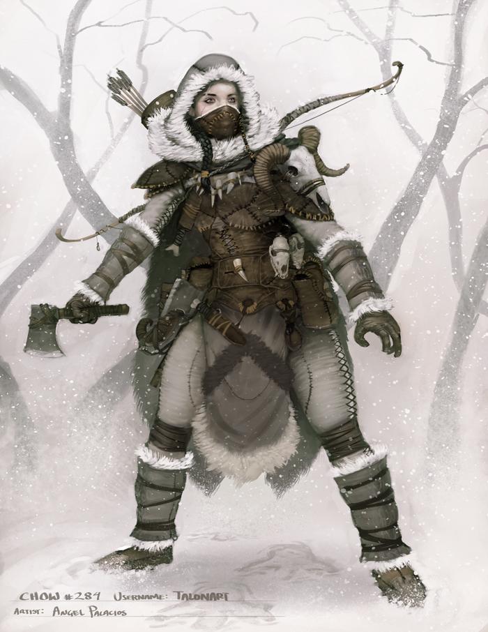 Northern Hunter by angel5art