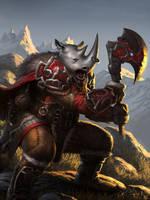 Mountain Warrior by angel5art