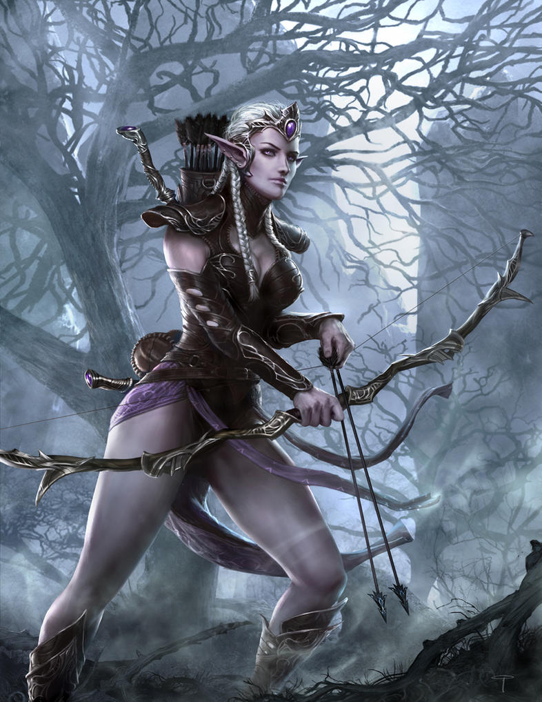 Elf women drawings naked pictures