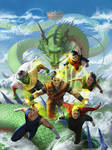DBZ by angel5art