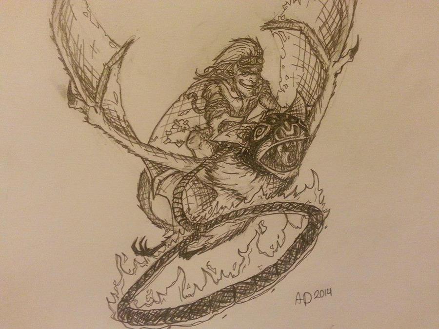 fan art batrider dota 2 by rajal tikana on deviantart