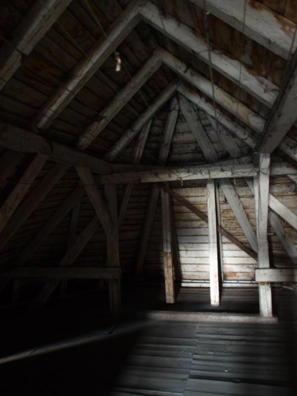 Small Attic Room With Dormer