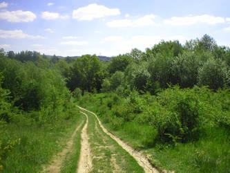 Landscape stock 38 path by Finsternis-stock