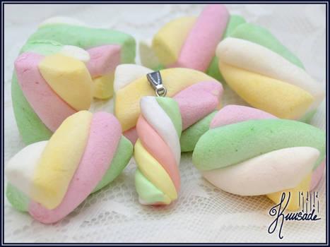 Marshmallow pendant