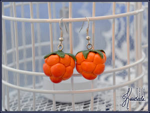 Cloudberry earrings
