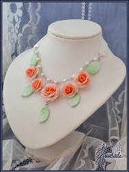 Vintage roses - Necklace by Seatear